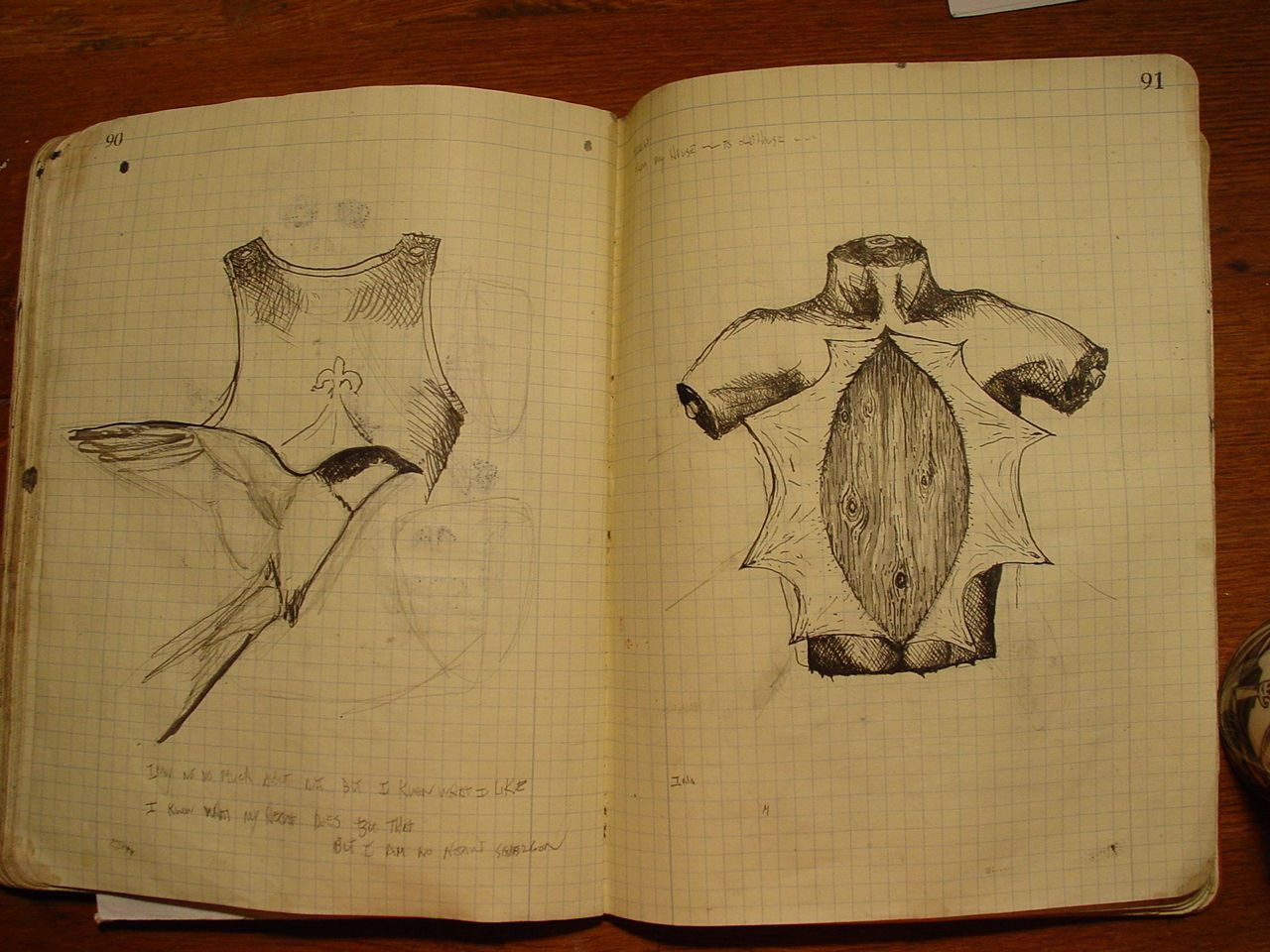 Genesis Chapman - Sketchbook (2004-2005)